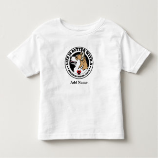 Life Is Better With A Pembroke Corgi Personalized Toddler T-Shirt