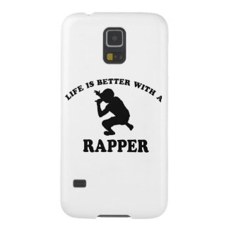 Life is better with a Rapper Galaxy S5 Case