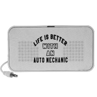 Life Is Better With An Auto mechanic iPod Speaker