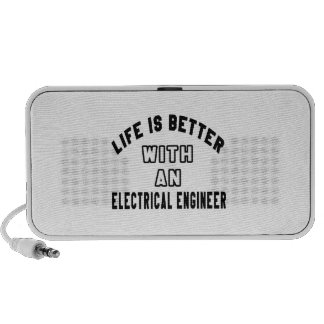 Life Is Better With An Electrical engineer Mini Speakers