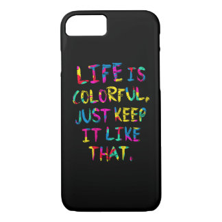 """LIFE IS COLORFUL"" Eco Environment Protection Case"