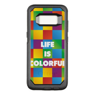 Life is Colorful OtterBox Commuter Samsung Galaxy S8 Case