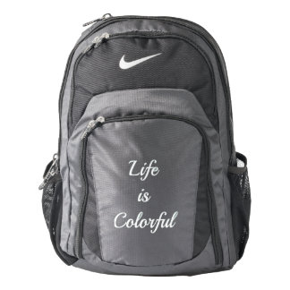 Life Is Colorful  Sports Bag