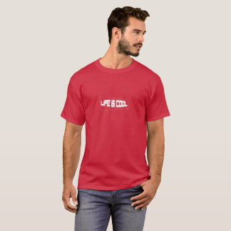 Life is cool (White on Cardinal) T-Shirt