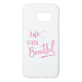 Life is crazy Beautiful Quote Text
