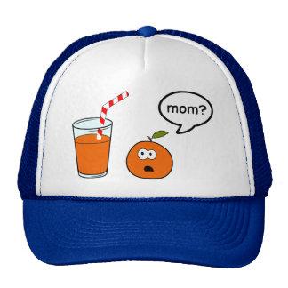 Life is cruel for oranges hat
