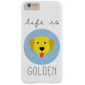 Life is Golden Golden Retriever Phone Case