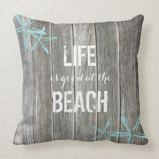 Life is good at the Beach ı Throw pillow