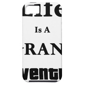 Life Is Grand Adventure iPhone 5 Cover