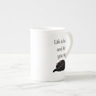 Life is Hard and Then You Nap Porcelain Mug
