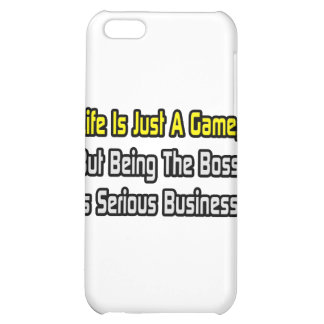 Life Is Just a Game .. Boss iPhone 5C Covers