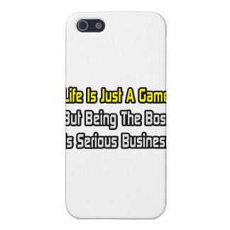 Life Is Just a Game .. Boss iPhone 5 Cover