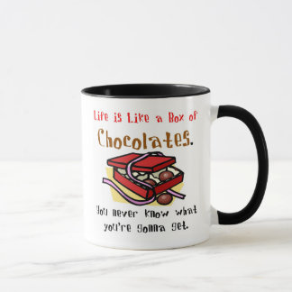 Life is Like a Box of Chocolates.