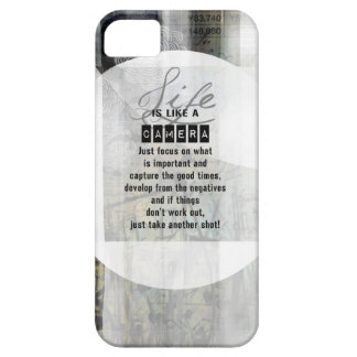 Life is Like a Camera Case For The iPhone 5