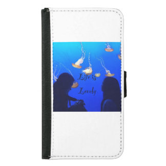 Life is Lovely Samsung Galaxy S5 Wallet Case
