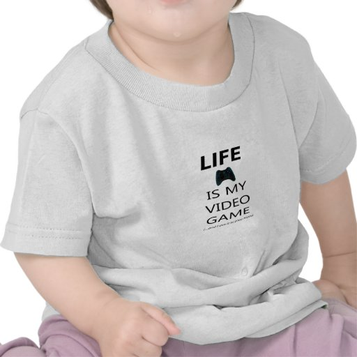 Life Is My Video Game (Halo) T-shirts