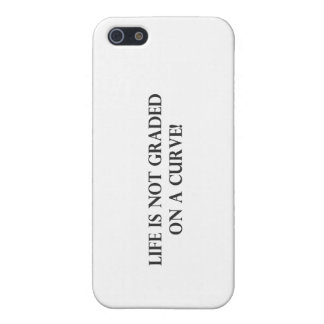 Life is Not Graded on a Curve.pdf iPhone 5 Cover