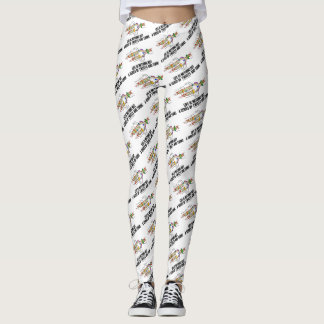 Life Is Nothing But A Series Of Twists & Turns DNA Leggings
