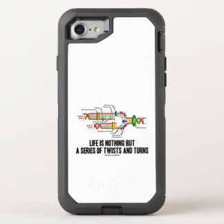 Life Is Nothing But A Series Of Twists & Turns DNA OtterBox Defender iPhone 8/7 Case