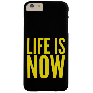 Life is now barely there iPhone 6 plus case