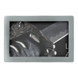 Life Is Only Available In The Present Moment Rectangular Belt Buckle