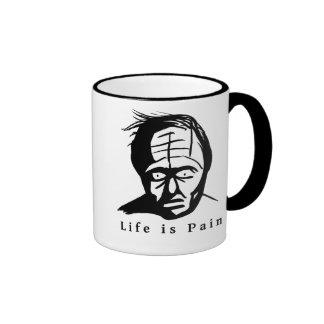 Life is Pain - Dark Humour  Mug