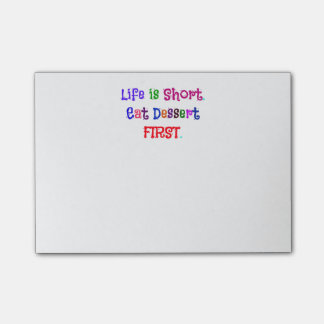 Life is Short... Post-it® Notes