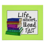 Life is Short. Read Fast.