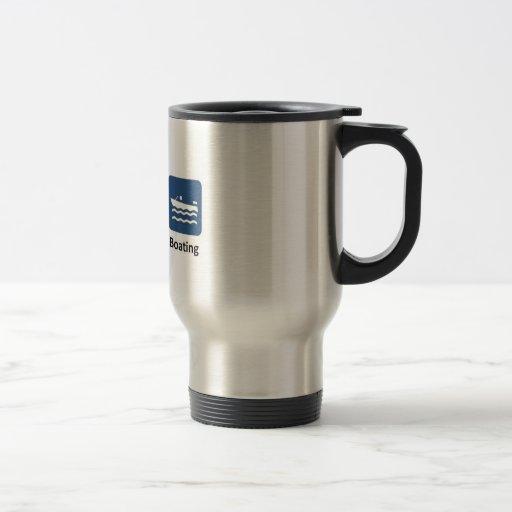 Life is simple, boating coffee mugs