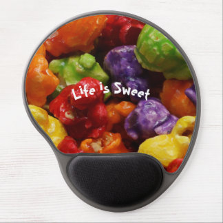 Life is Sweet Candied Popcorn Gel Mousepad