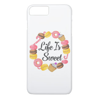 Life is Sweet iPhone 8 Plus/7 Plus Case