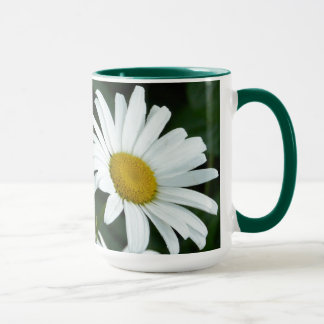 Life is the flower-Daisy with Quote Mug