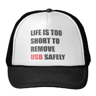 Life Is Too Short To Remove Usb Safely Cap