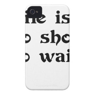 life is toomshort to wait Case-Mate iPhone 4 case