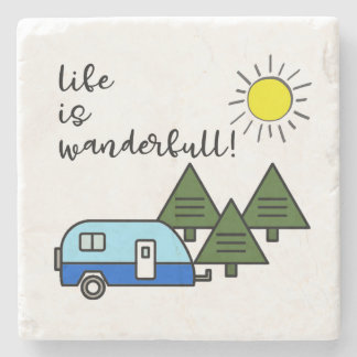 life is wanderfull! coasters