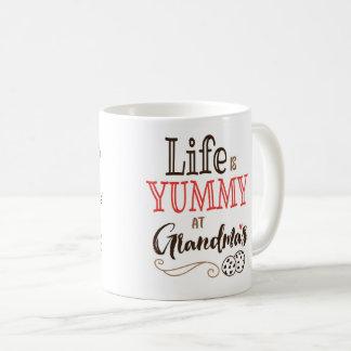 Life is Yummy at Grandma's Mug