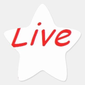 life.jpg star sticker