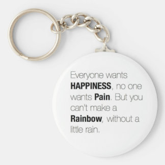 Life Lesson Quote. Basic Round Button Key Ring