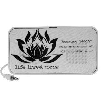 Life Lived Now - Portable Speaker