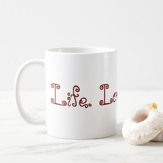 Life. Love. Blogging. Mug - Red
