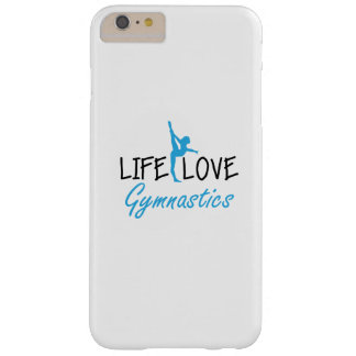 Life Love Gymnastics Gymnastic Gymnast Cute Gift Barely There iPhone 6 Plus Case