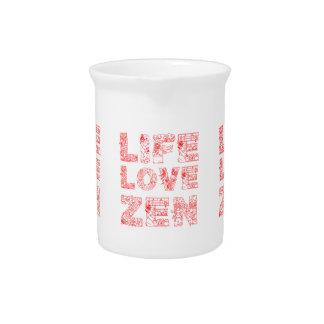 Life, Love, Zen Pitcher
