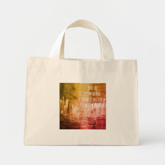 Life Mini Tote Bag