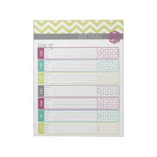 Life. More Organized. Food Tracker Notepad
