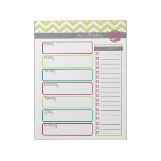 Life. More Organized. Meal Planning Notepad