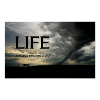 Life Motivational Poster