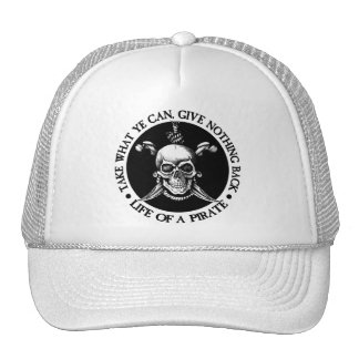 Life Of A Pirate -Take What Ye Can Mesh Hat