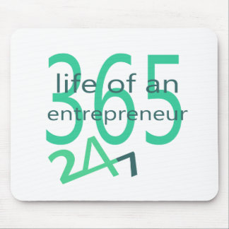Life of an entrepreneur mouse pad