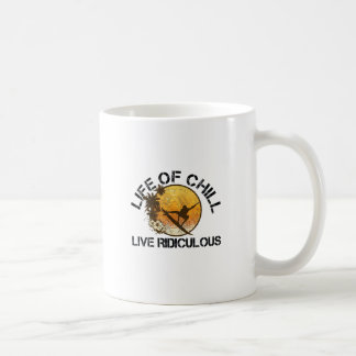 life of chill coffee mug
