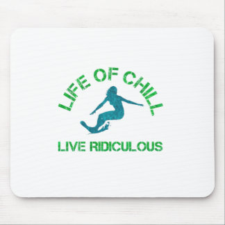 life of chill mouse pad